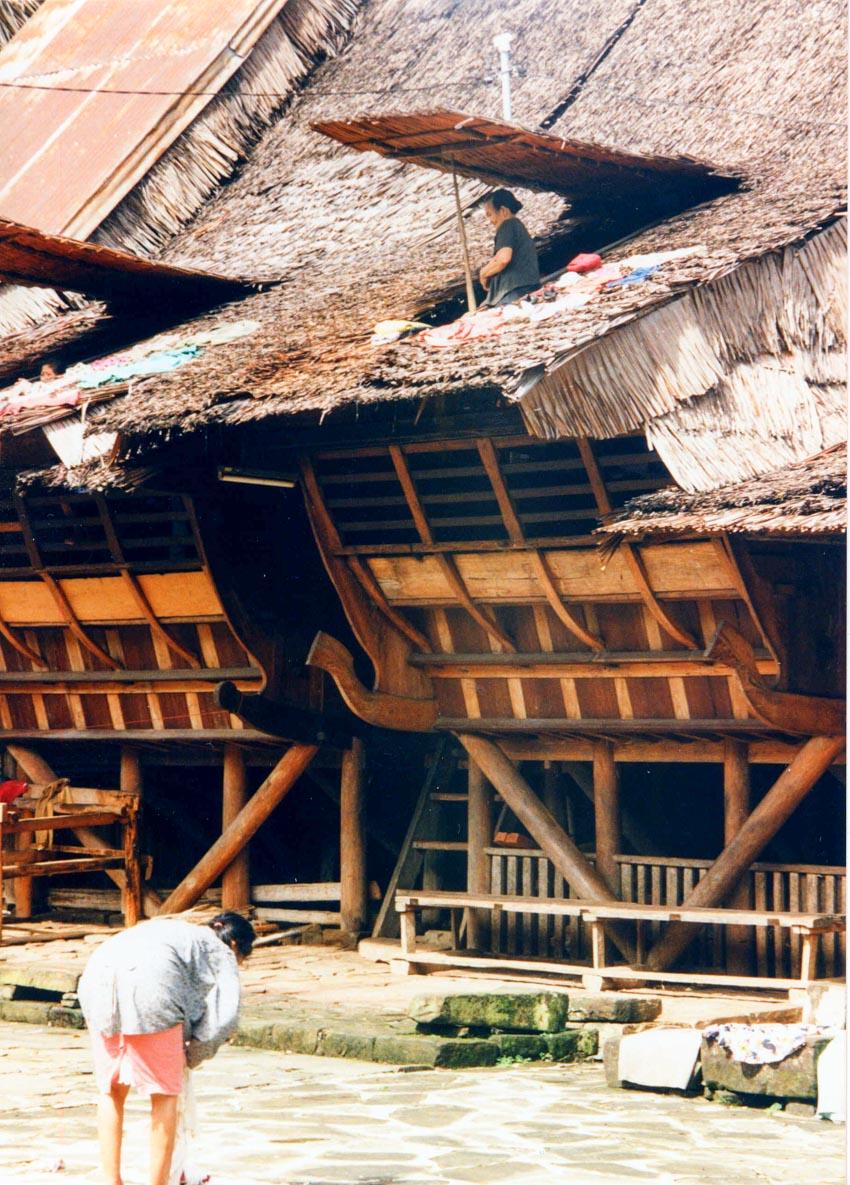 Đa dạng nhà gỗ truyền thống Indonesia - 2
