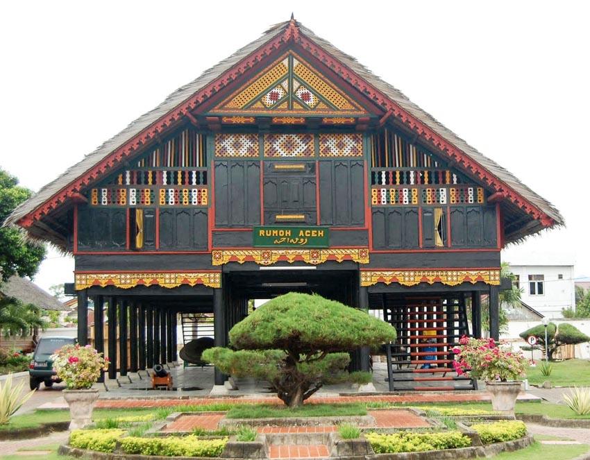Đa dạng nhà gỗ truyền thống Indonesia - 13