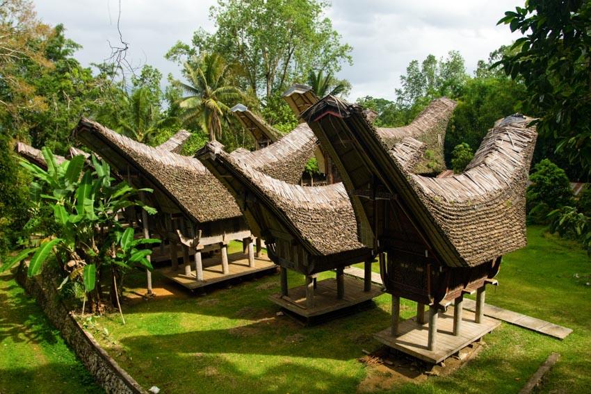 Đa dạng nhà gỗ truyền thống Indonesia - 19