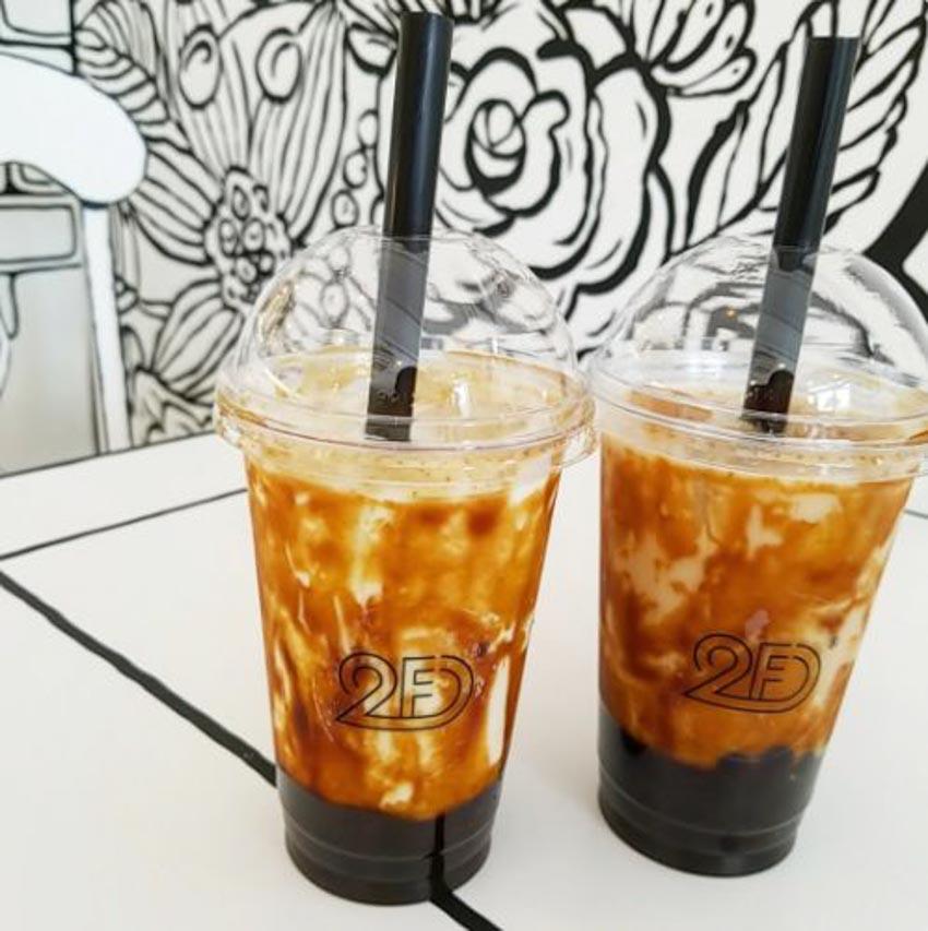 Quán Cafe 2D thiết kế dựa trên ý tưởng của sách tô màu - 4