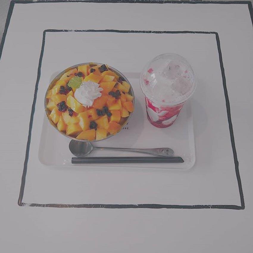 Quán Cafe 2D thiết kế dựa trên ý tưởng của sách tô màu - 6