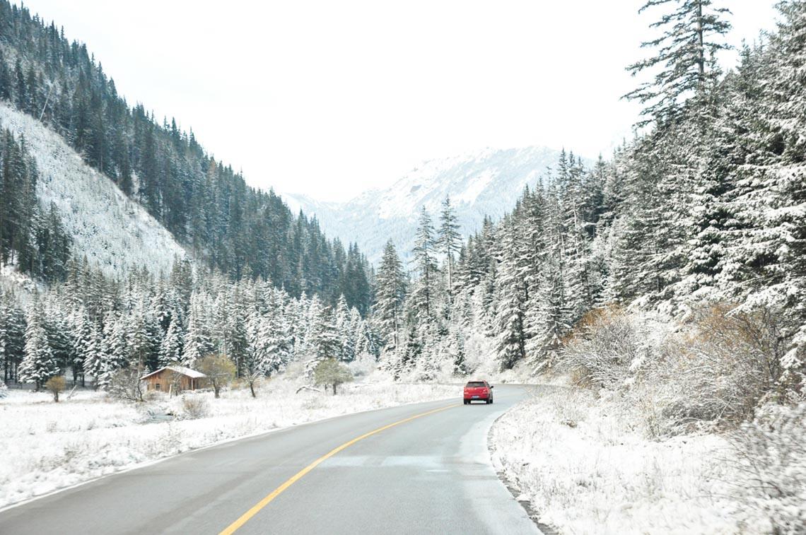 Rừng xanh tuyết trắng Cửu Trại Câu - 1