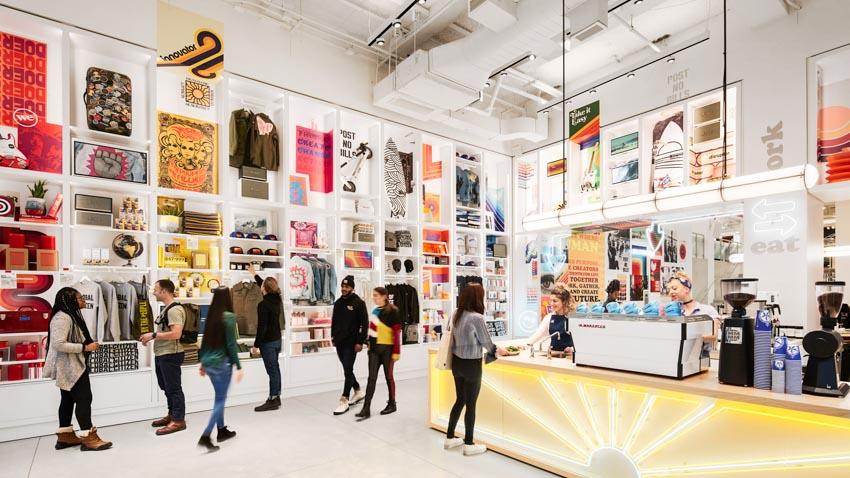The We Company giới thiệu không gian làm việc kết hợp café và cửa hàng chọn lọc - 2
