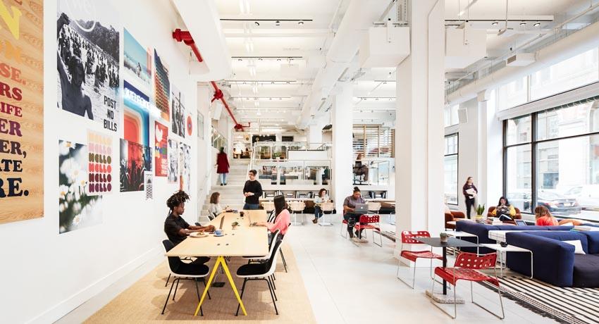 The We Company giới thiệu không gian làm việc kết hợp café và cửa hàng chọn lọc - 5