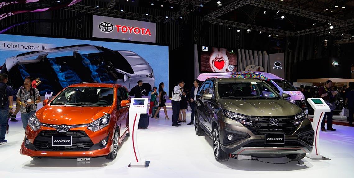 Toyota tại Vietnam Motor Show 2019 -8