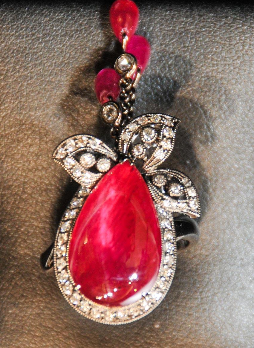 Trang sức hồng bảo thạch - Vua châu báu thần bí - 5