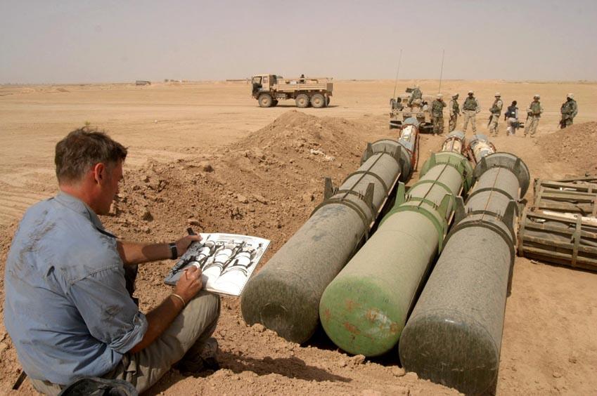 Tranh và ký họa của Steve Mumford về chiến tranh - 1