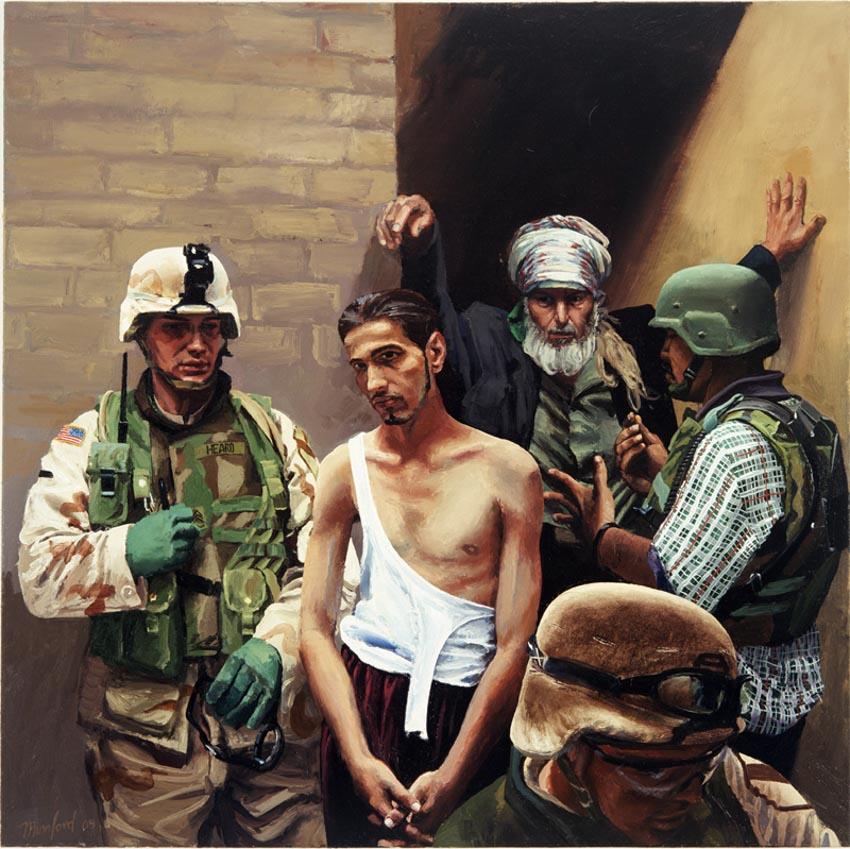 Tranh và ký họa của Steve Mumford về chiến tranh - 5