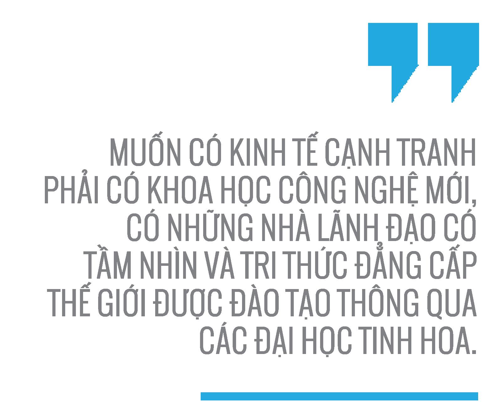 Tiến sĩ Nguyễn Xuân Xanh: Không thể có một quốc gia mạnh với các đại học yếu -4
