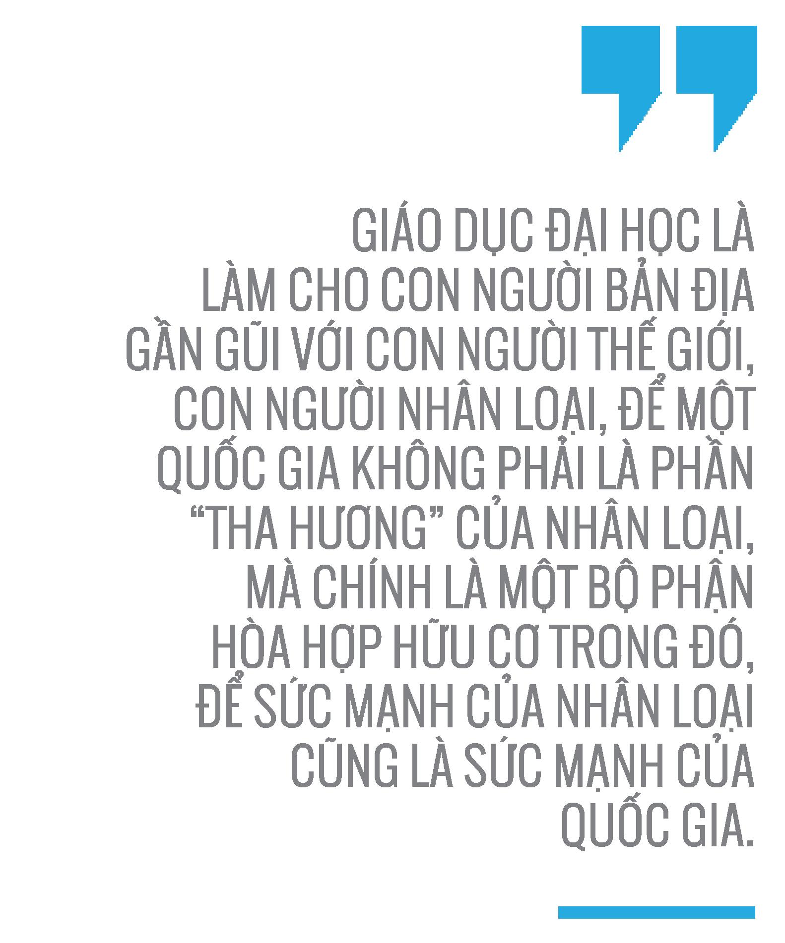Tiến sĩ Nguyễn Xuân Xanh: Không thể có một quốc gia mạnh với các đại học yếu -5