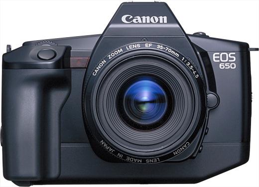 Canon EOS 650 – Chiếc máy ảnh đầu tiên của dòng EOS ra mắt vào năm 1987