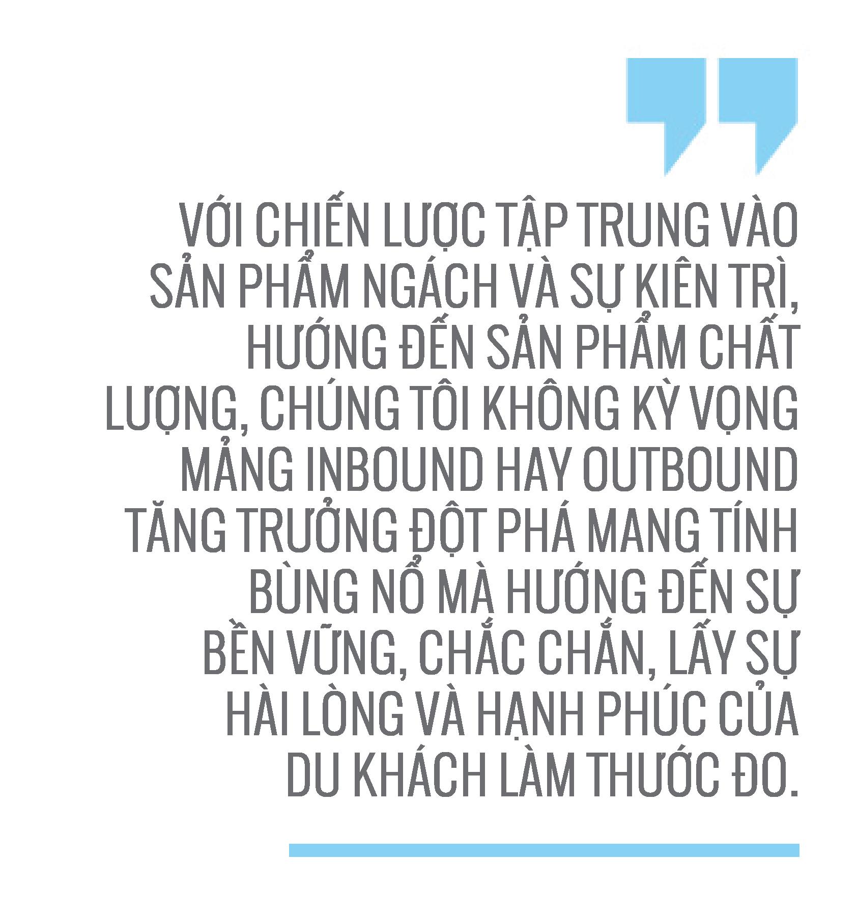 Ông Lại Minh Duy, Tổng giám đốc Công ty Du lịch TST -2