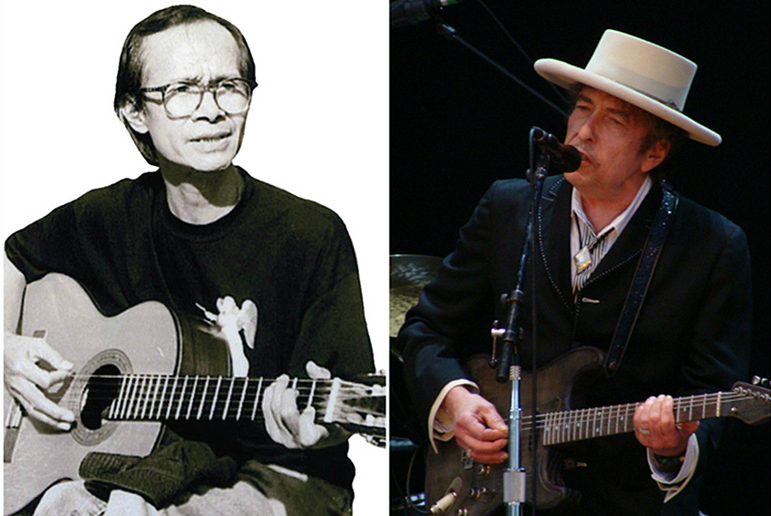Ra mắt cuốn sách về những đối chiếu thú vị giữa Trịnh Công Sơn và Bob Dylan -002