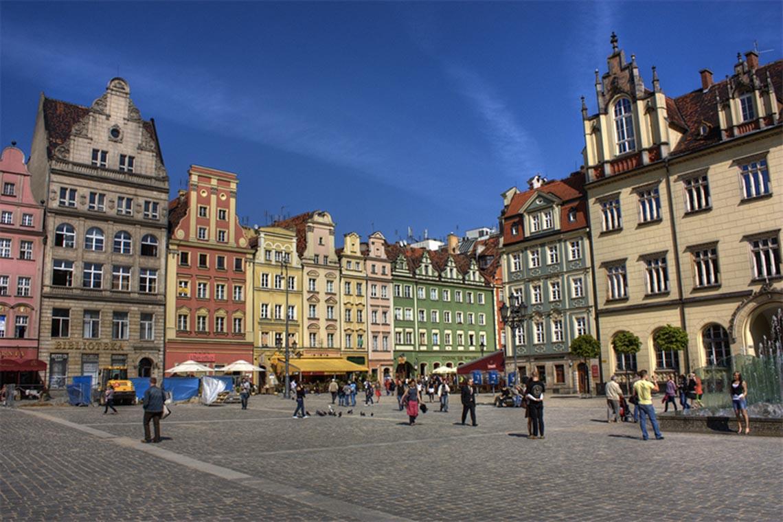 6 thành phố đáng sống nhất tại Ba Lan - Wroclaw