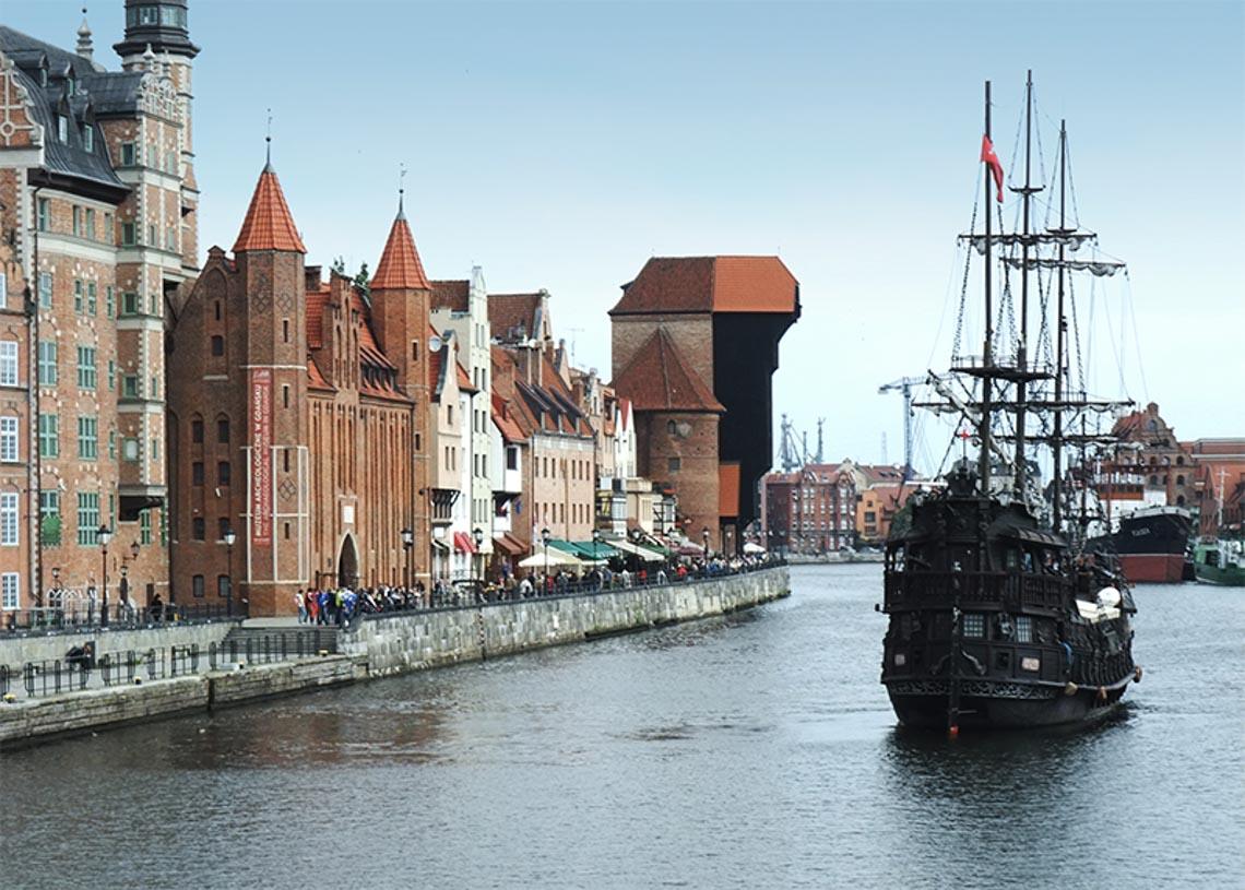 6 thành phố đáng sống nhất tại Ba Lan - gdansk