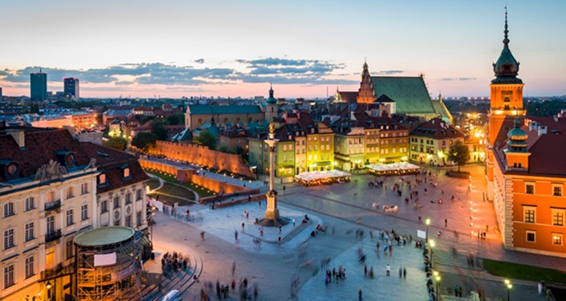 6 thành phố đáng sống nhất tại Ba Lan - warsaw