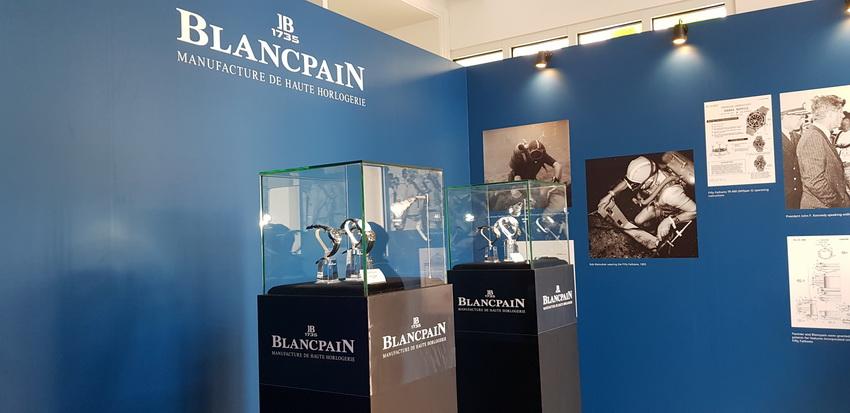 đồng hồ Thụy Sĩ Blancpain ra mắt bộ sưu tập Fifty Fathoms - 5