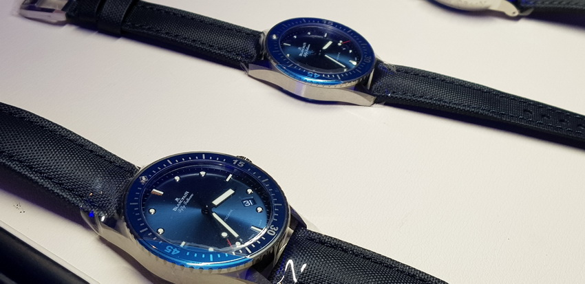 đồng hồ Thụy Sĩ Blancpain ra mắt bộ sưu tập Fifty Fathoms - 10