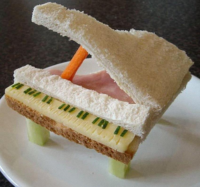Ảnh vui: Điêu khắc bánh sandwich - 4
