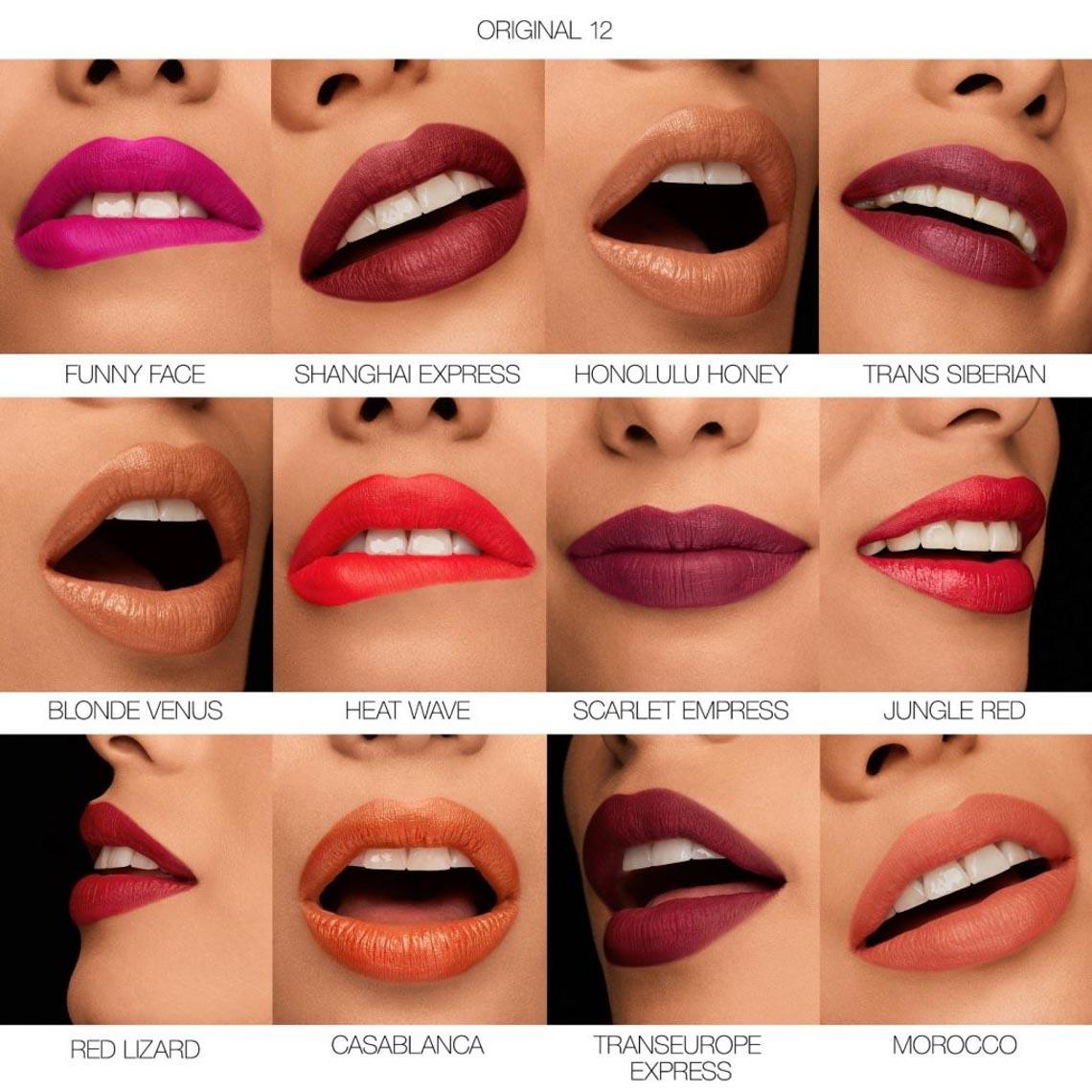 Bộ sưu tập son Iconic Lipstick kỷ niệm NARS 25 năm - 4