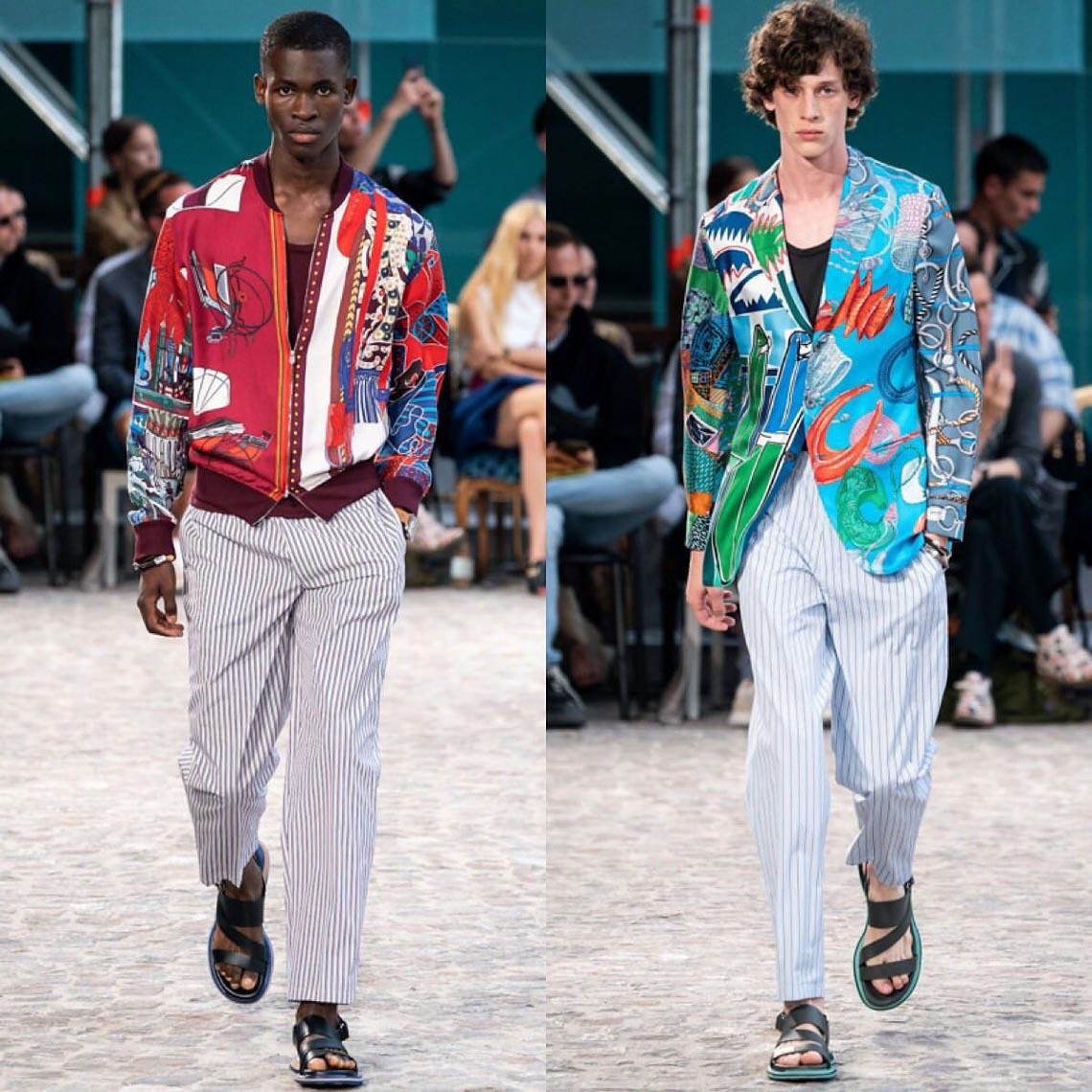 Bộ sưu tập thời trang nam Xuân Hè 2020 của Hermès - 10