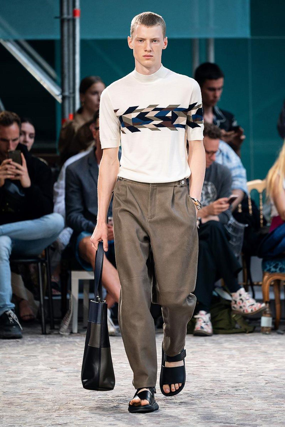 Bộ sưu tập thời trang nam Xuân Hè 2020 của Hermès - 3