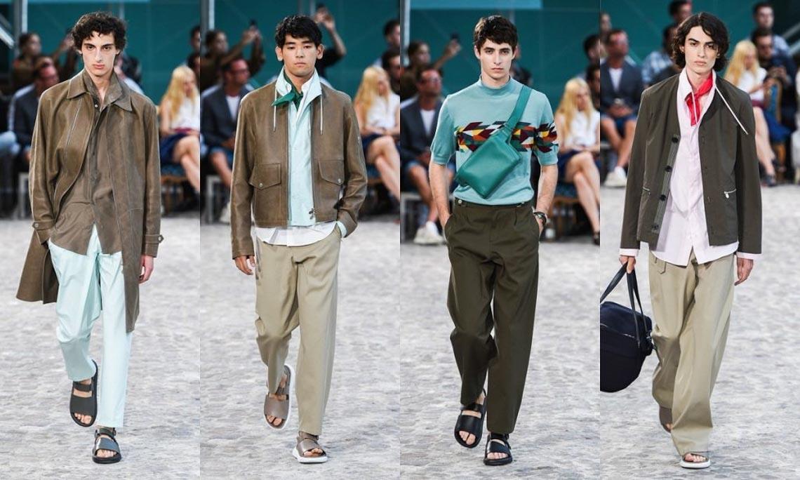 Bộ sưu tập thời trang nam Xuân Hè 2020 của Hermès - 9