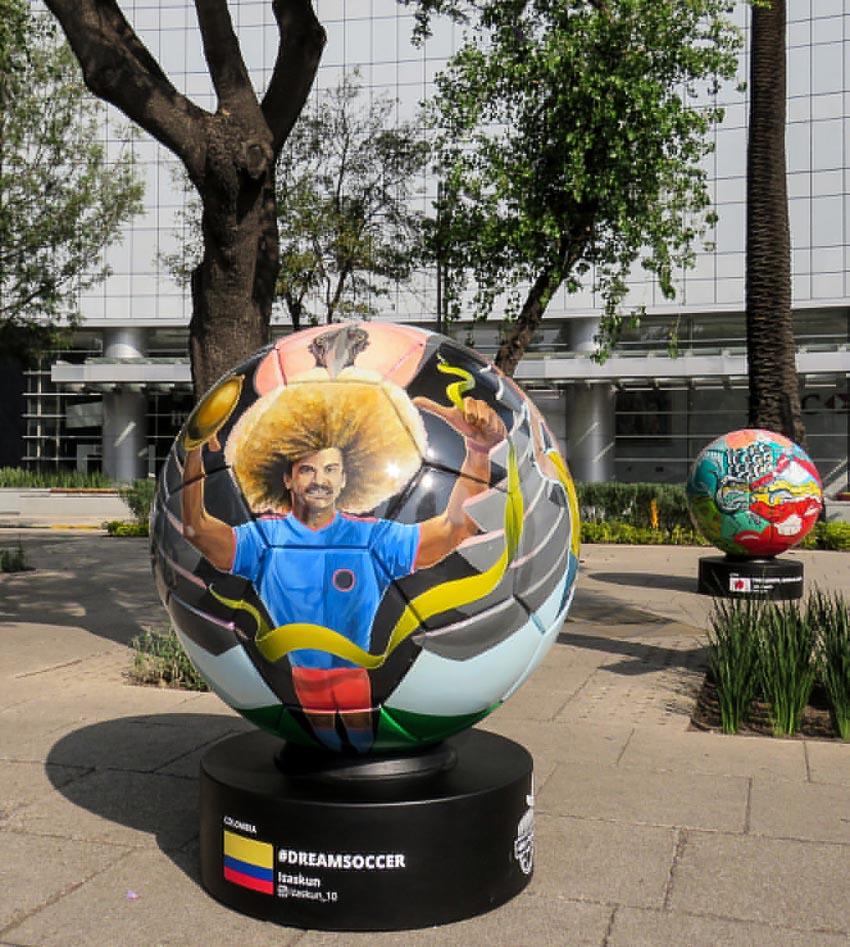 Chuyện lạ đó đây: Nghệ thuật bóng khổng lồ World Cup 2018 - 7
