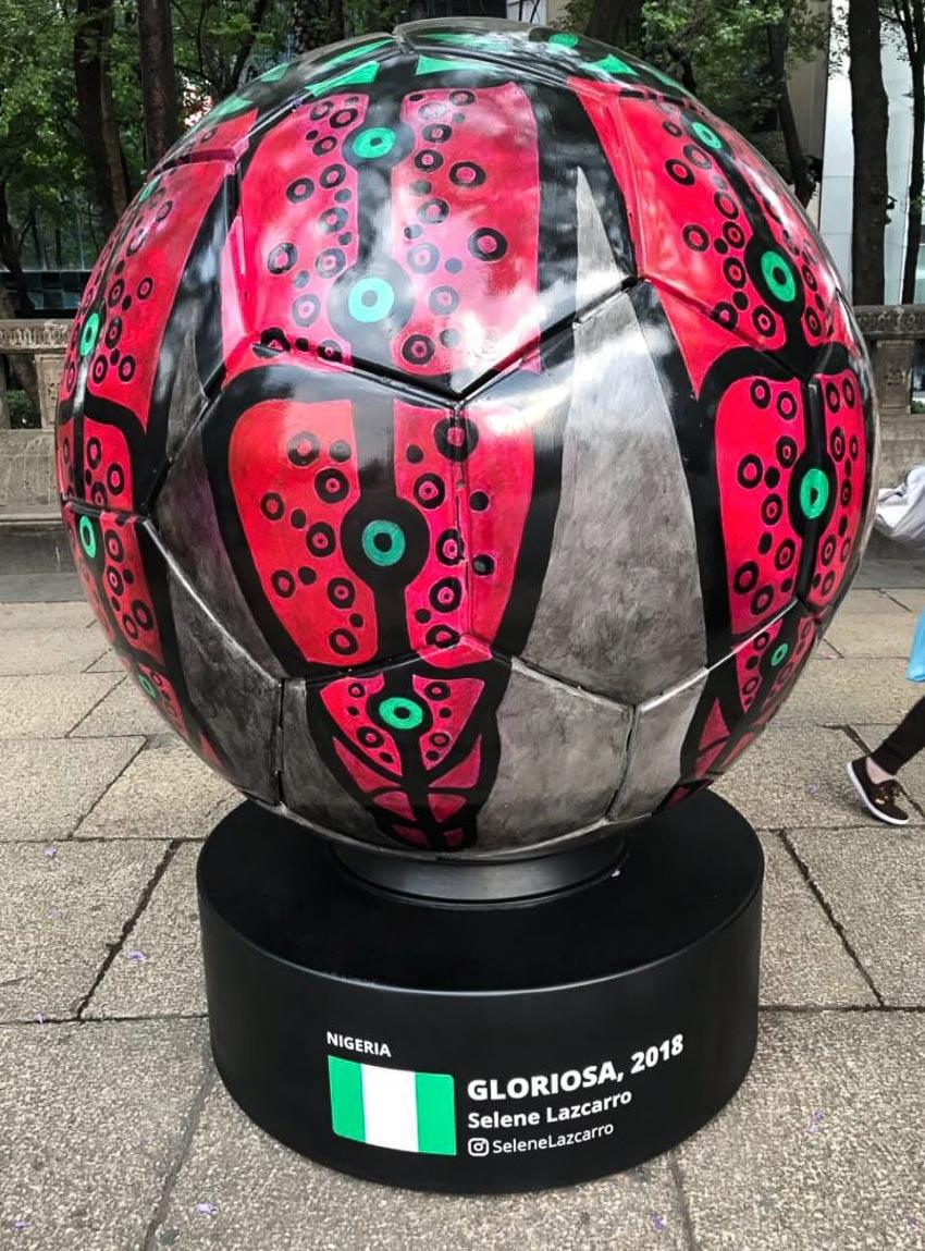 Chuyện lạ đó đây: Nghệ thuật bóng khổng lồ World Cup 2018 - 12