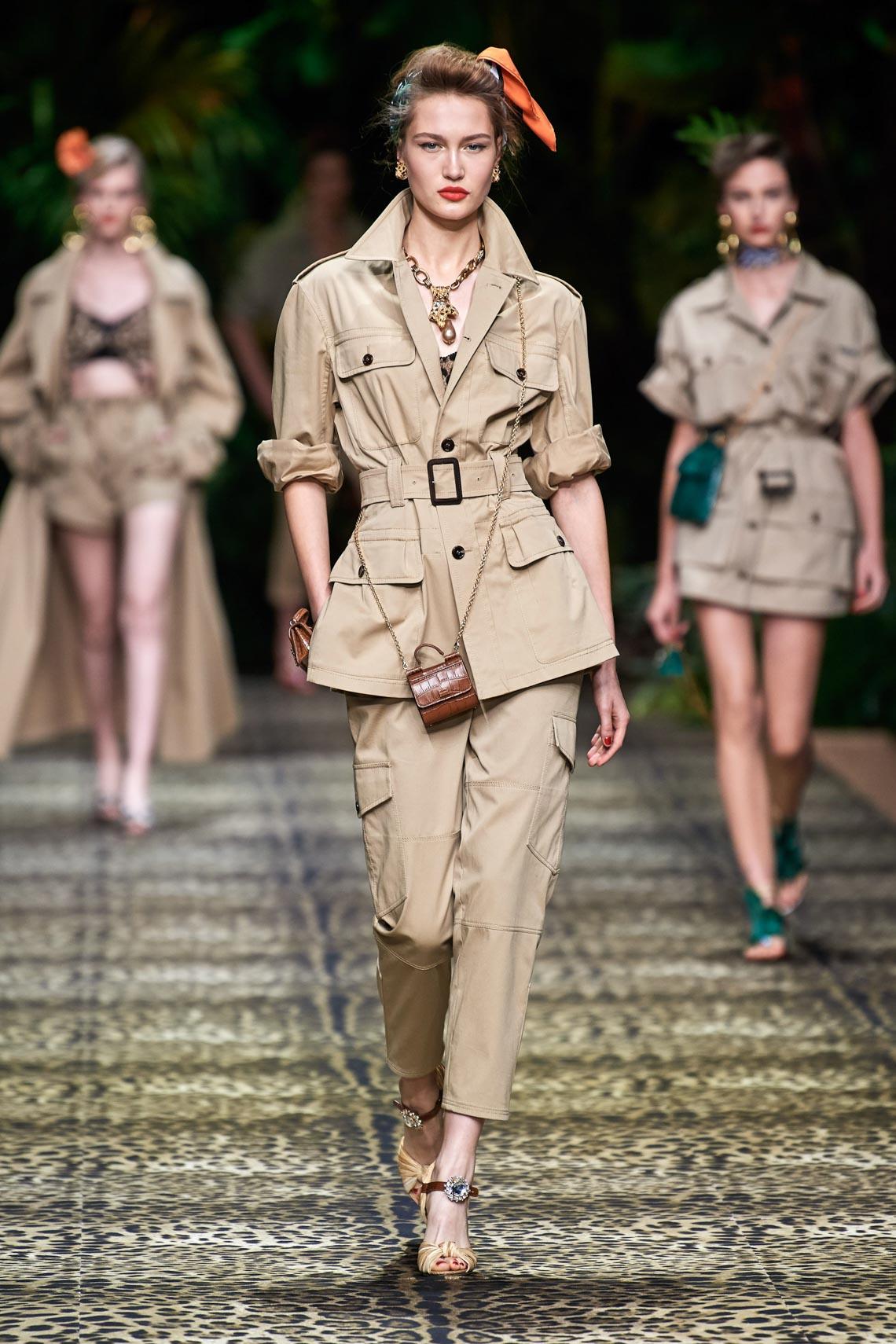 Dolce & Gabbana mang cả khu rừng sang trọng vào BST Xuân Hè 2020 - 1