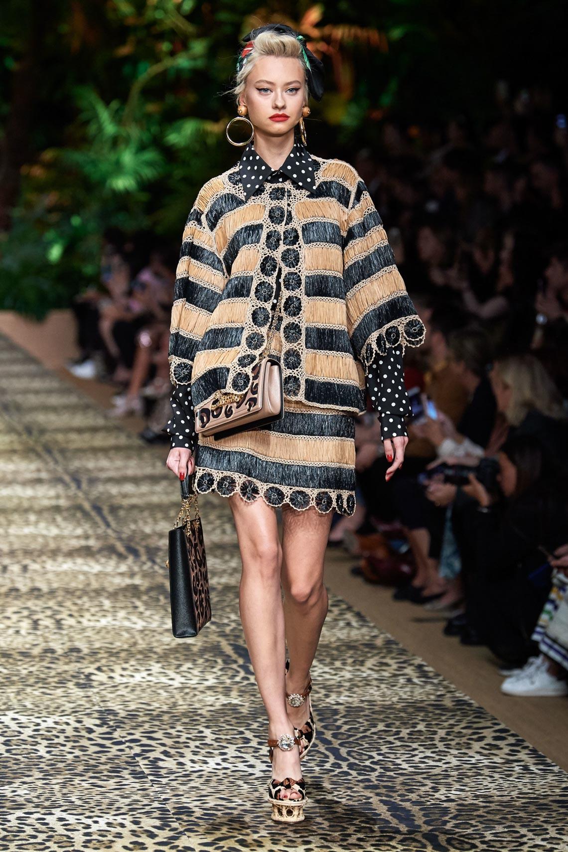 Dolce & Gabbana mang cả khu rừng sang trọng vào BST Xuân Hè 2020 - 12