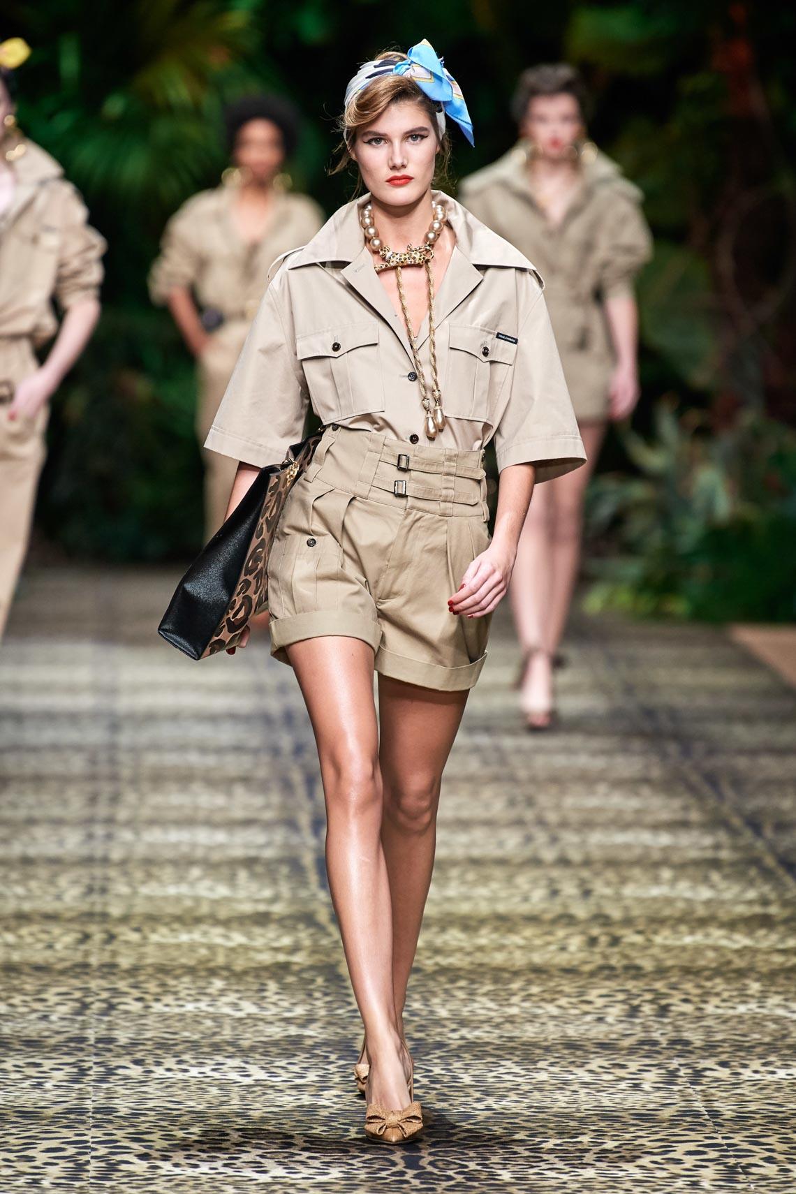 Dolce & Gabbana mang cả khu rừng sang trọng vào BST Xuân Hè 2020 - 2
