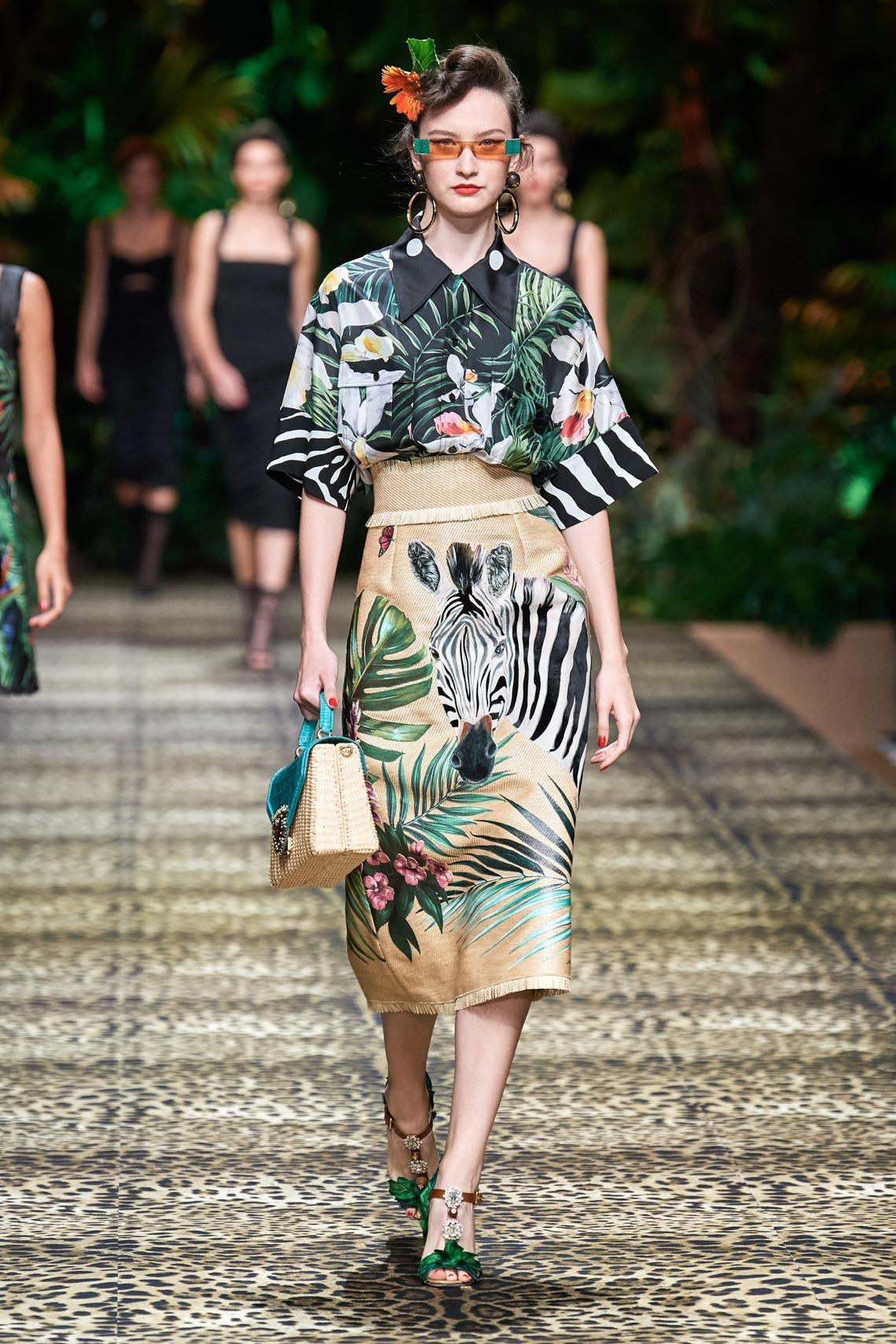 Dolce & Gabbana mang cả khu rừng sang trọng vào BST Xuân Hè 2020 - 4