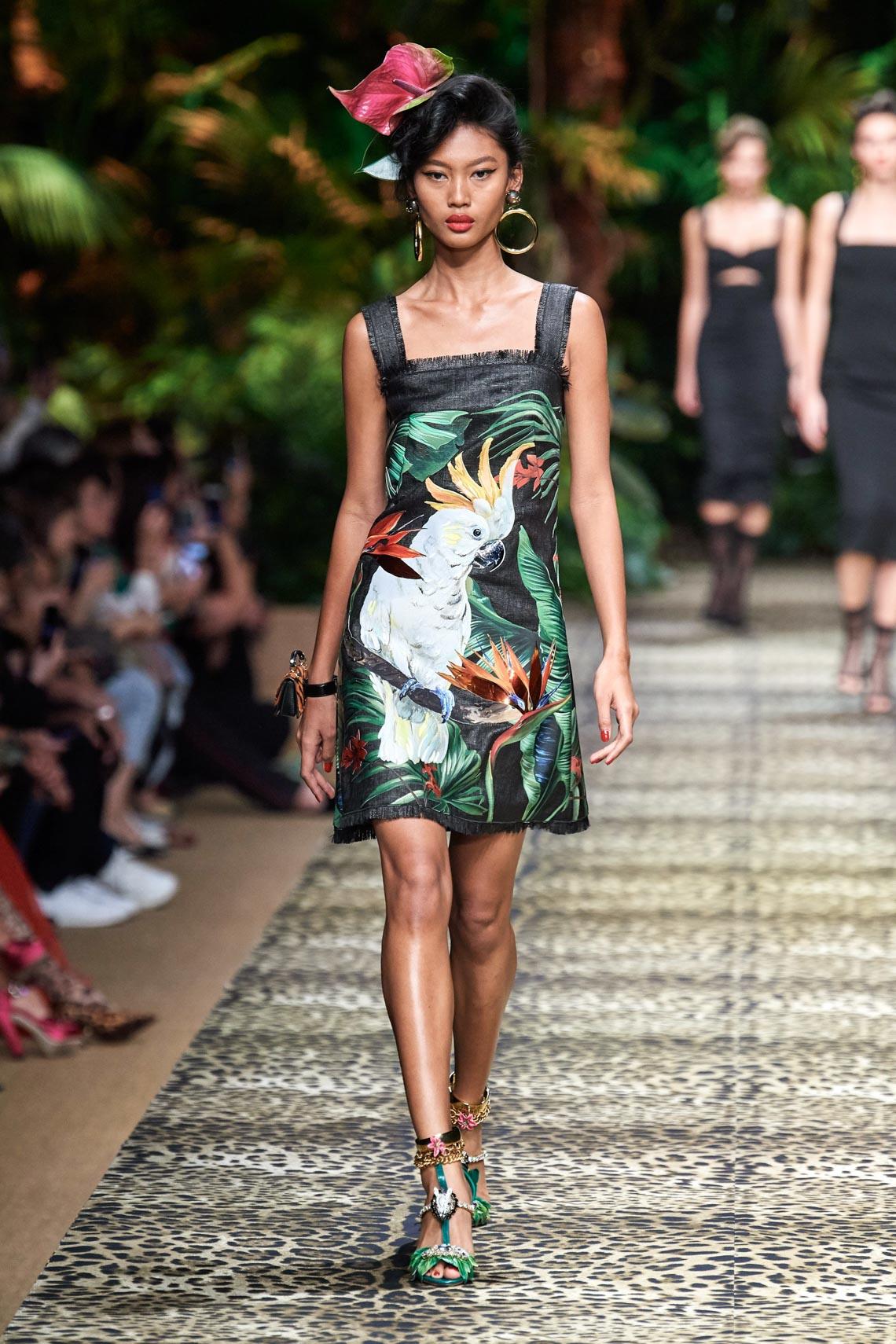 Dolce & Gabbana mang cả khu rừng sang trọng vào BST Xuân Hè 2020 - 5