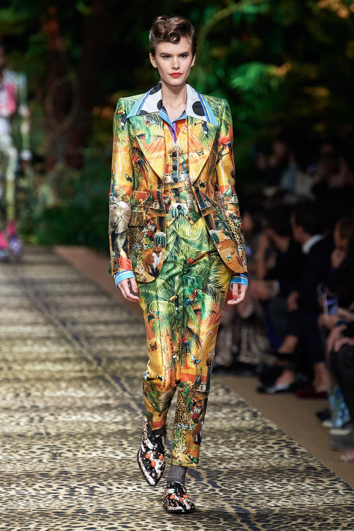Dolce & Gabbana mang cả khu rừng sang trọng vào BST Xuân Hè 2020 - 9