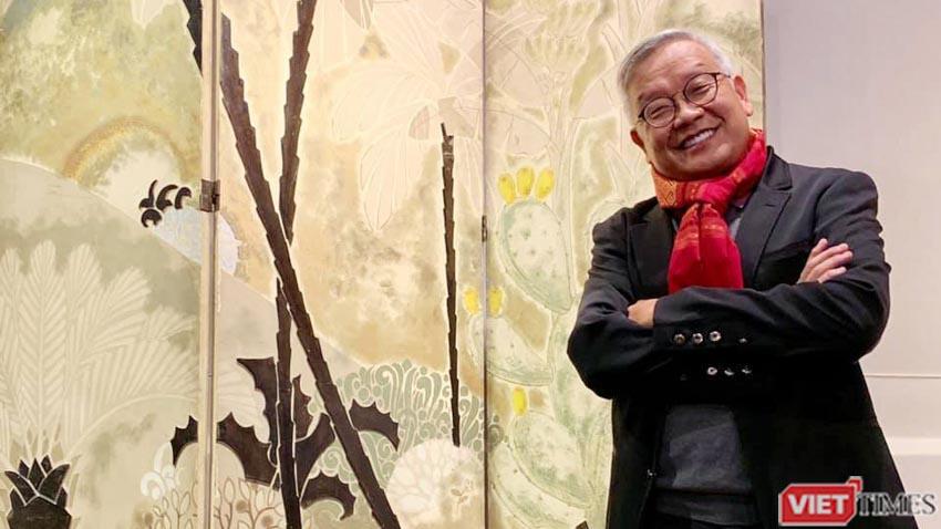 Bức Rừng Việt Nam của họa sĩ Lê Văn Đệ giá hơn 9,3 tỉ đồng - 1