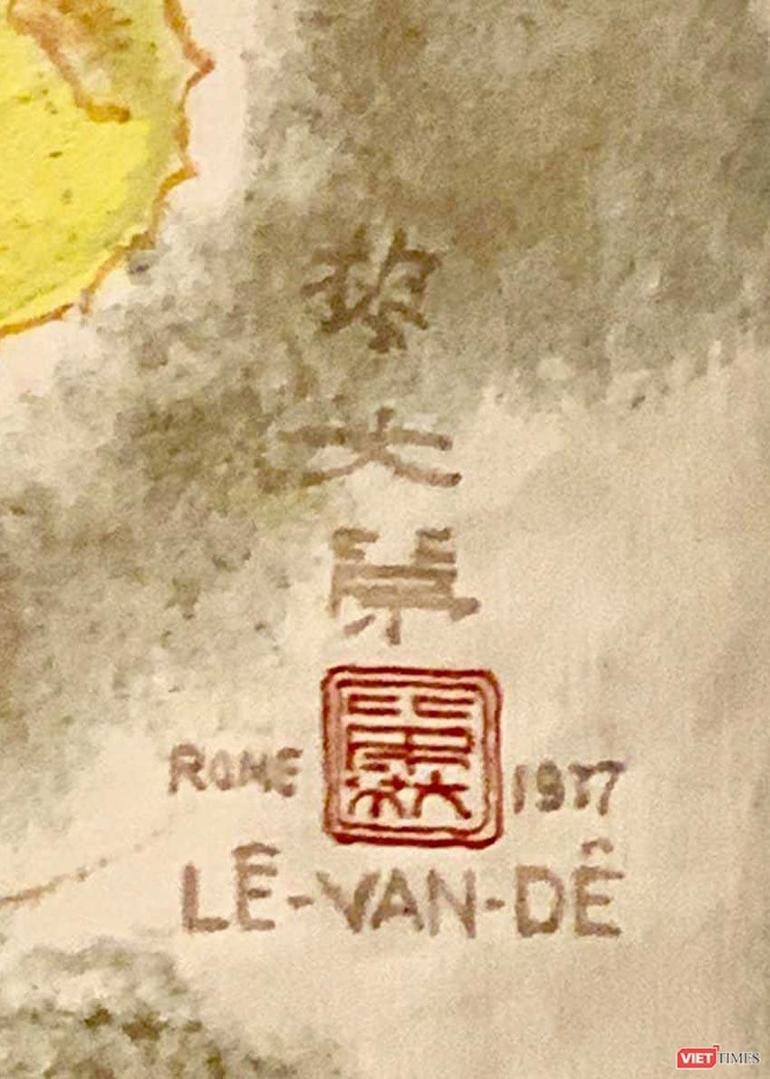 Bức Rừng Việt Nam của họa sĩ Lê Văn Đệ giá hơn 9,3 tỉ đồng - 3