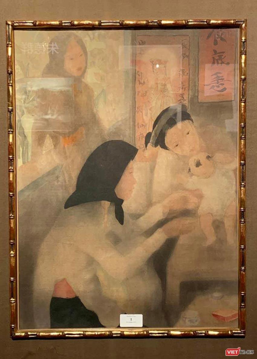 Bức Rừng Việt Nam của họa sĩ Lê Văn Đệ giá hơn 9,3 tỉ đồng - 4