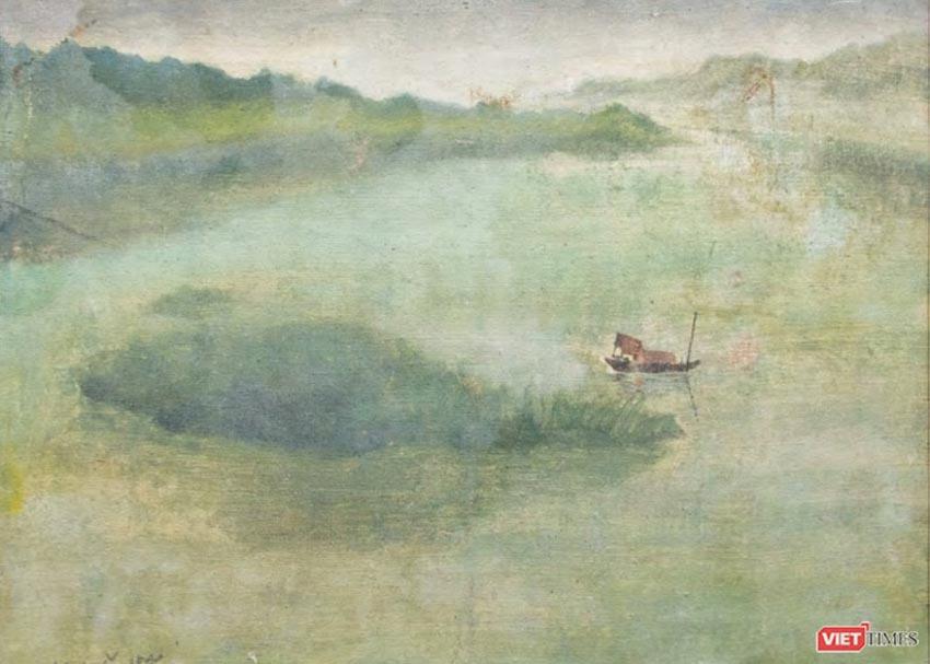 Bức Rừng Việt Nam của họa sĩ Lê Văn Đệ giá hơn 9,3 tỉ đồng - 7