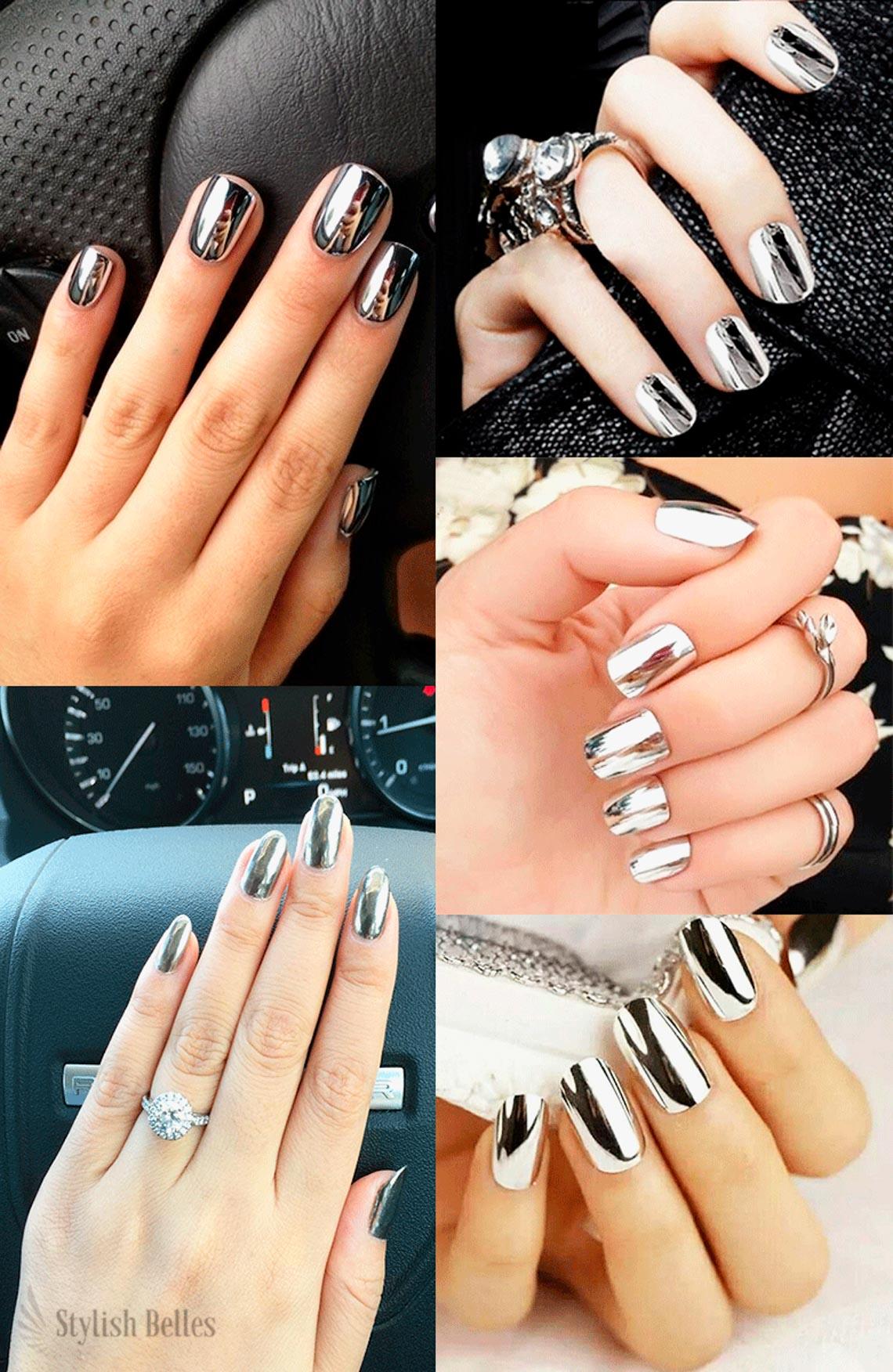 Các mẫu nails đang được yêu thích hiện nay - 2