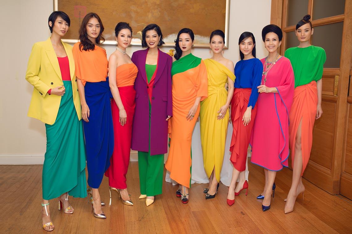 Cách phối trang phục đa sắc của những mỹ nhân V-biz - 10