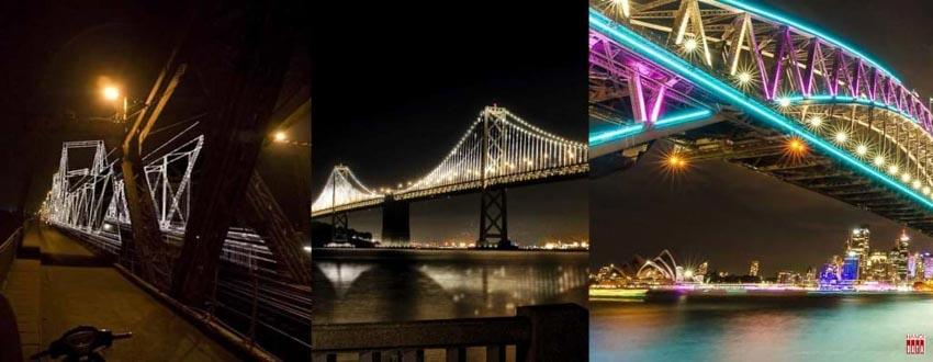 Cây cầu hơn 100 năm tuổi được 'xây' lại bằng... ánh sáng -12