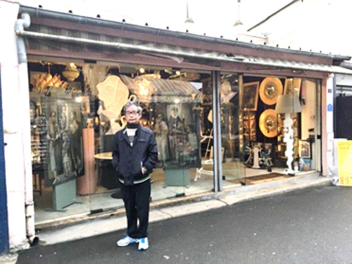 Đi chợ đồ xưa Saint Ouen ở Paris - 1