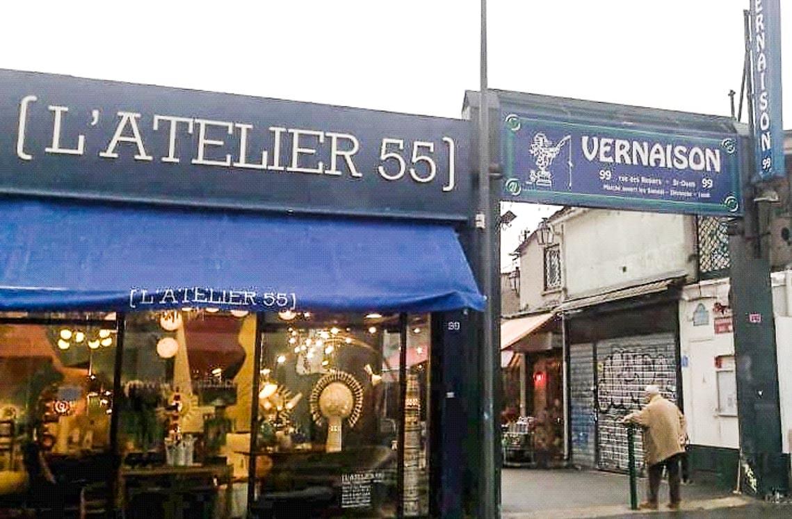 Đi chợ đồ xưa Saint Ouen ở Paris - 2