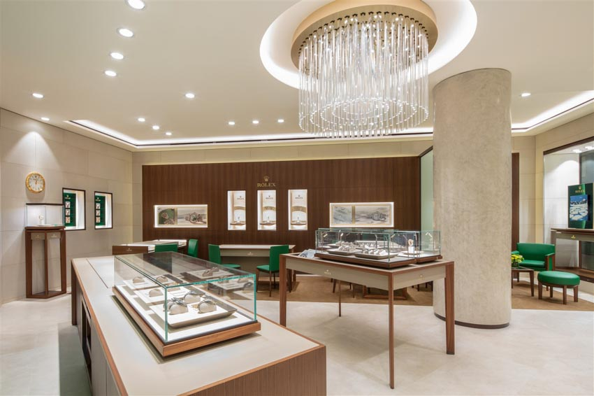Diện mạo mới của cửa hàng đồng hồ Rolex tại Tràng Tiền Plaza, Hà Nội - 3