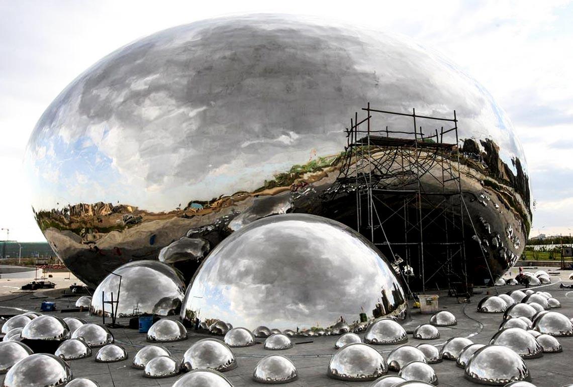 Độc đáo nhà bong bóng - 1