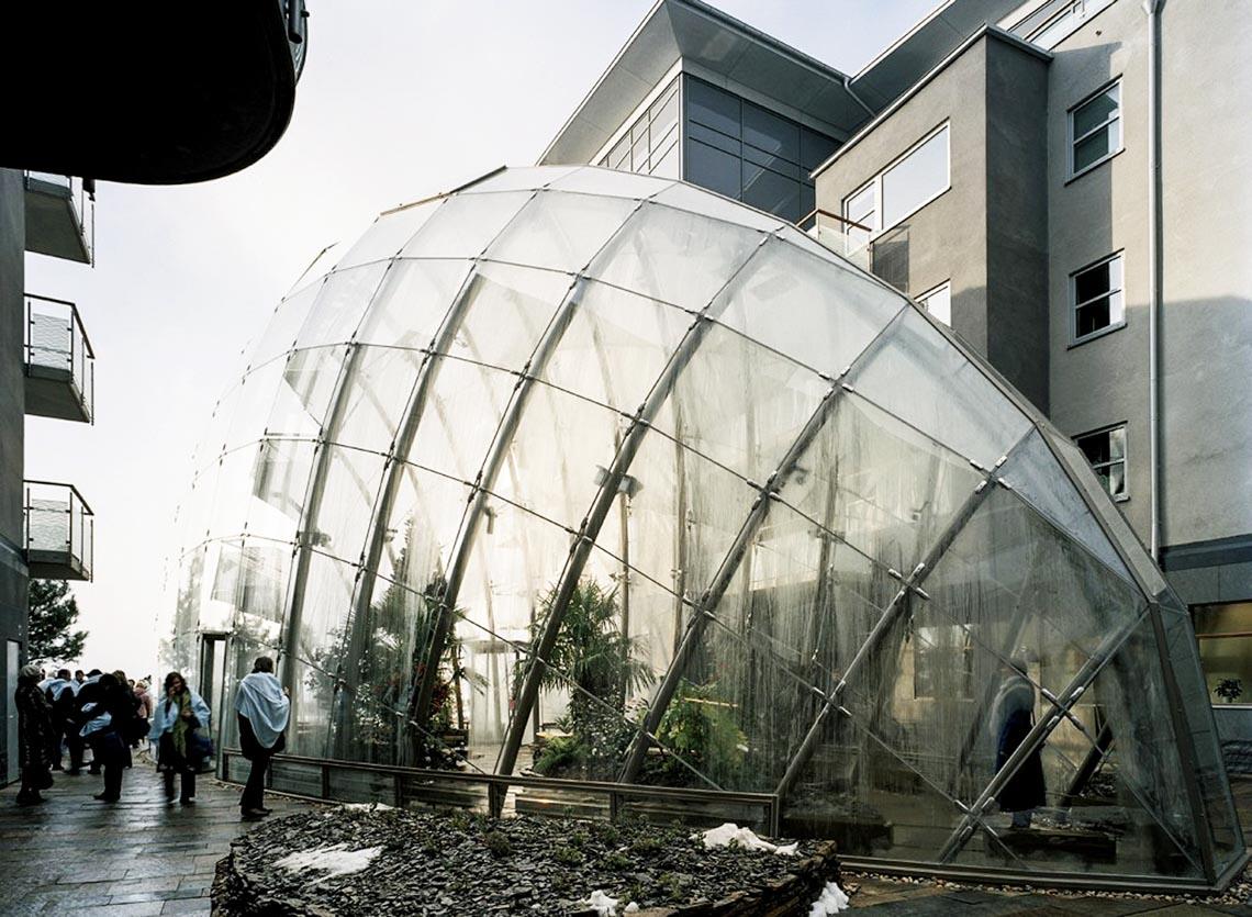 Độc đáo nhà bong bóng - 14