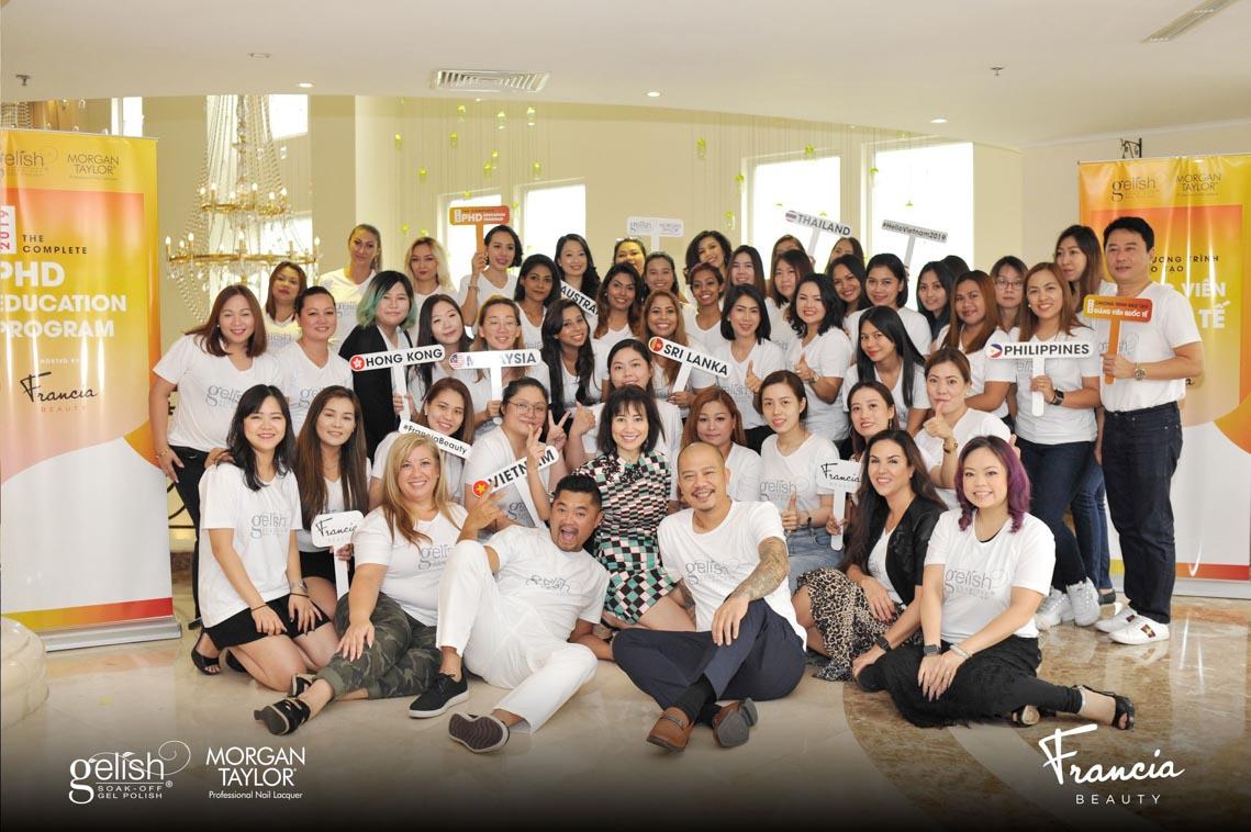 Francia Beauty tổ chức hai sự kiện tôn vinh ngành nail Việt Nam - 8
