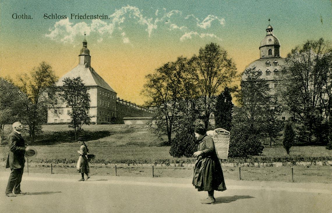 Thành phố nhỏ, cổ xưa Gotha ở miền Trung nước Đức - 1