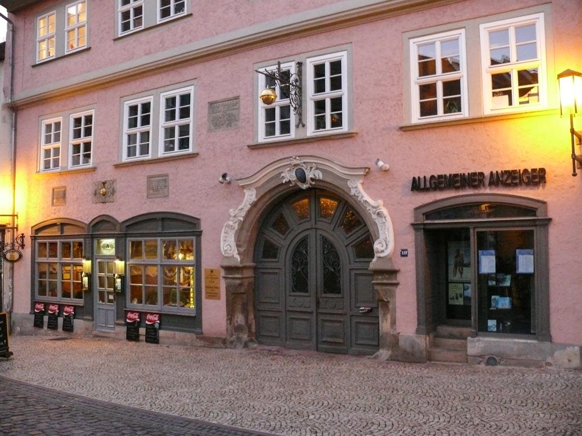 Thành phố nhỏ, cổ xưa Gotha ở miền Trung nước Đức - 7